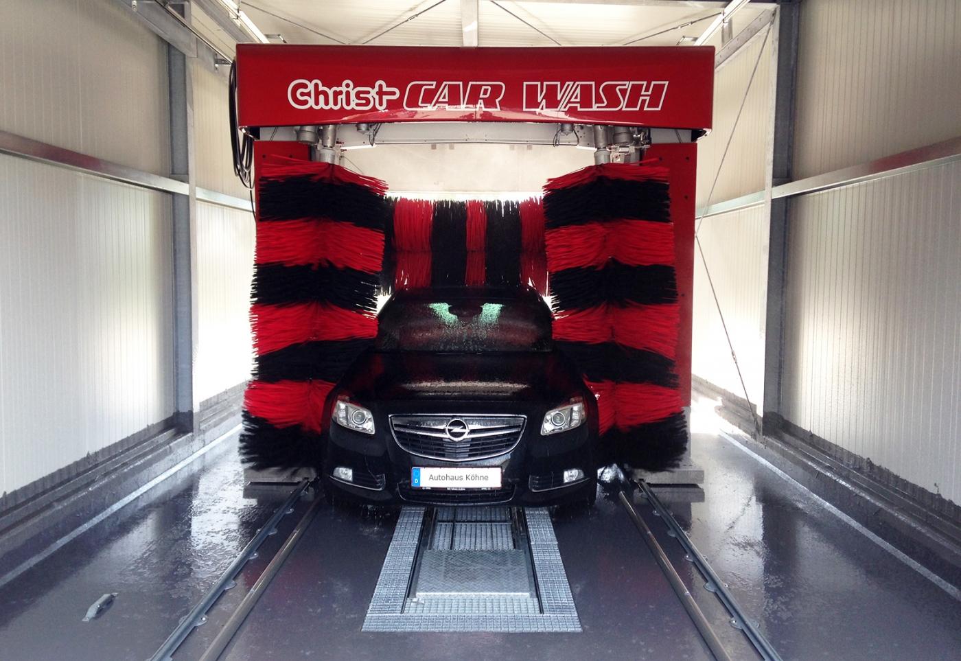 Waschanlage   Autohaus Köhne
